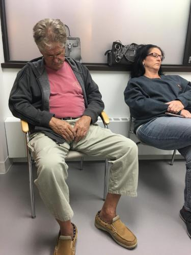 Dads lung doctor appointment
